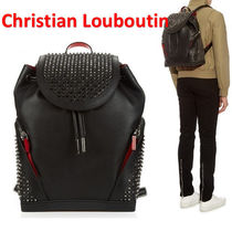 Christian Louboutin☆ EXPLORAFUNK スパイク バックパック BK