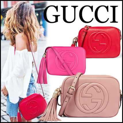 huge discount 2e5d3 9f080 【国内発送】2016SS新作 GUCCI ソーホーディスコバッグ