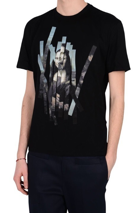 【関税負担】NEIL BARRETT 16SS MONA LISA/BLACK
