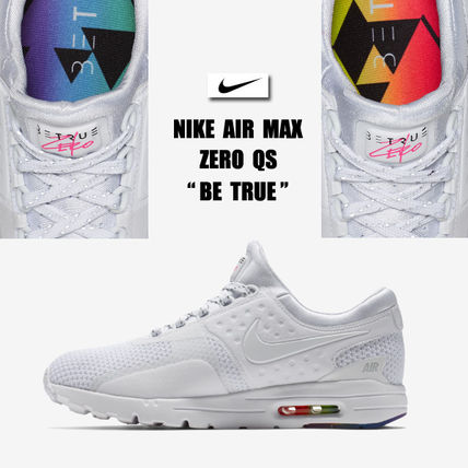 NIKE★AIR MAX ZERO QS BE TRUE★レインボー★23~25.5cm