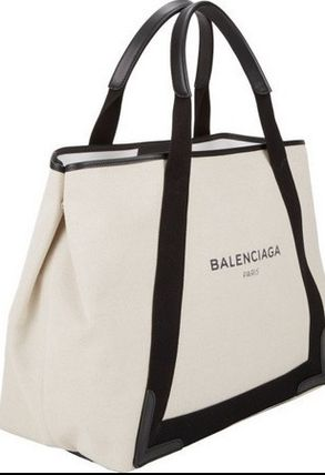 BALENCIAGA canvas tote M Pouch with