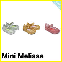 【Melissa】メリッサ Infant's Zigzag Glitter Mary Jane Flats