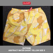 サイズ S!ABSTRACT WATER SHORT YELLOW