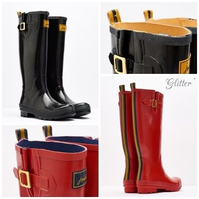 * Joules Clothing * FIELD WELLIES long rain boots *