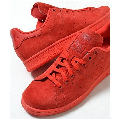 adidas Originals Stan Smith ★ スエード RED 赤 ☆
