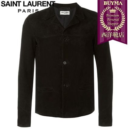 16/17秋冬入荷!┃SAINT LAURENT┃CLASSIC COLLAR JACKET