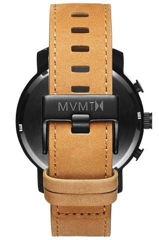 送料税込☆MVMT Watches☆CHRONO WHITE BLACK/TAN LEATHER◇国発