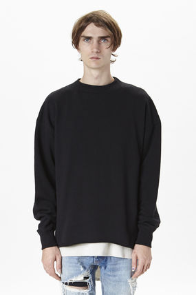 FEAR OF GOD 4th CREWNECK SWEATSHIRT トレーナー VINTAGE BLACK