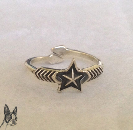 ☆Cody Sanderson☆ Double Arrow Small Star Ring