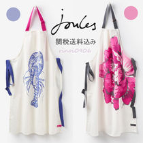 Joules Clothing(ジュールズ クロージング) エプロン 【税・送込】*Joules Clothing*プリントエプロン★クリーム色2柄