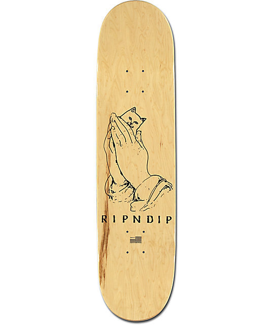 "RIPNDIP リップンディップ Lord Nermal Rose 8.0"" Skateboard"