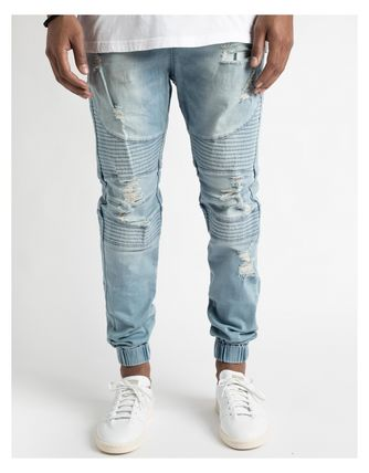 CAYLER SONS 16AW damage Jogger pants