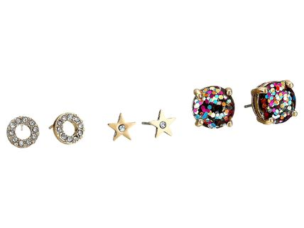 女子力UP☆Glitter 3 Piece Stud Set Earrings/イヤリングkate