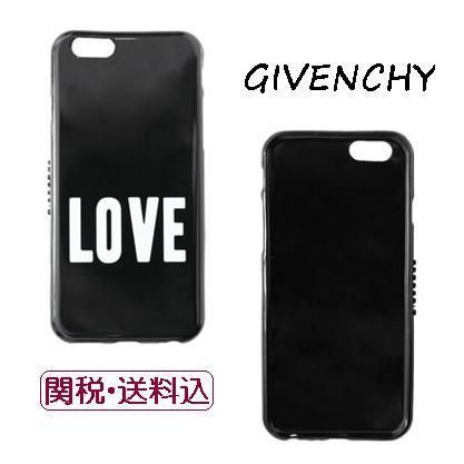 ★SALE★【GIVENCHY】LOVEプリントiPhone6&6Sケース