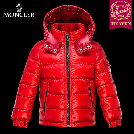 TOPセラー賞!16/17秋冬┃MONCLER_12-14歳★OUTERWEAR┃レッド