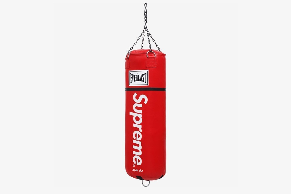 16S/S Supreme Everlast Leather Heavy Bag サンドバッグ
