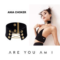 ARE YOU AM I(アーユーアムアイ) ネックレス・ペンダント 新作モデル愛用中*ARE YOU AM I*ANIA CHOKERアニアチョーカー