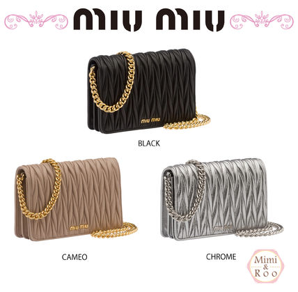 MiuMiu parties and weddings on the 2-WAY with chain clutch