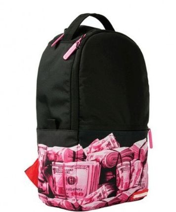 追尾/関税込☆Sprayground Mini Pink Money Rolled Backpack