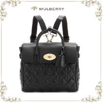 【SALE!】★Mulberry★レザーバックパック