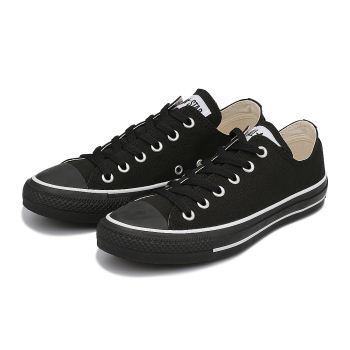【国内正規品】converse CANVAS ALL STAR COLORS OX 黒/白