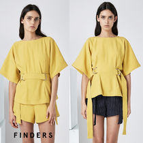 【FINDERS】★Dリング付ボクシーカットソー★関税送料込・即発送