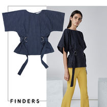 【FINDERS】★ストライプ・ボクシーカットソー★関税送料込即発