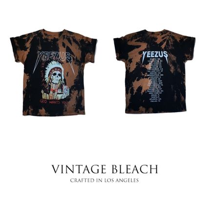 SS16! ラスト1点! VINTAGE BLEACH YEEZUS Indian Chief