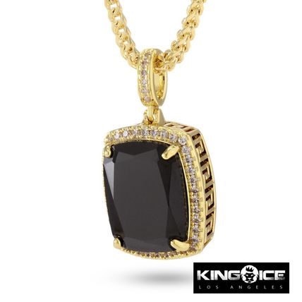 14K Gold Onyx Crown Julz Necklace