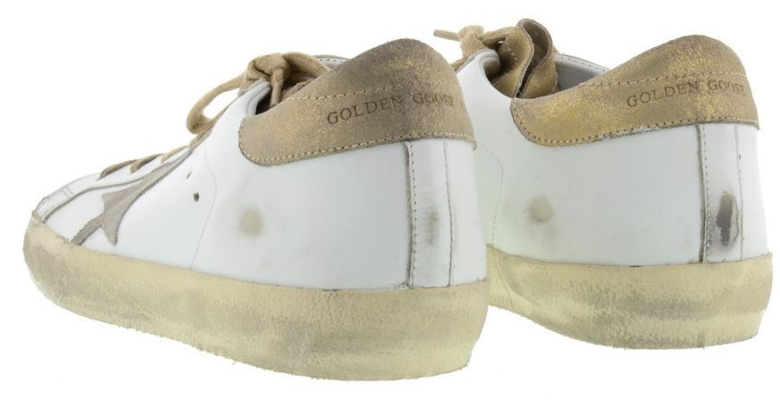 【関税負担】 GOLDEN GOOSE 16AW SUPERSTAR WHITE/GOLD