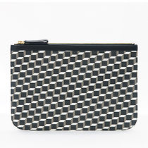 Pierre Hardy(ピエールアルディー) クラッチバッグ ピエール アルディ クラッチバッグ ポーチ CANVAS CUBE POUCH L