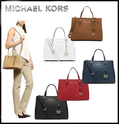 MICHAEL KORS★JET SET TRAVEL MEDIUM TOTE 国内発送! 関税込み