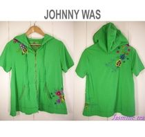 Johnny was(ジョニーワズ ) パーカー・フーディ ★在庫一掃セール★Johnny was-Reanna S/S Asymmetric...★