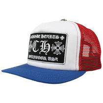 CHROME HEARTS メッシュキャップ CH TRUCKER CAP 青&赤