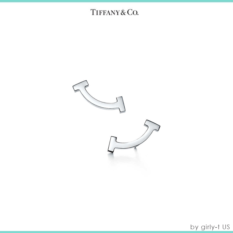 日本未入荷【Tiffany & Co】Tiffany T SMILE EARRINGS ピアス