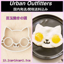 Urban Outfitters(アーバンアウトフィッターズ) 調理器具 ◆Urban Outfitters◆シリコン製 目玉焼き型 ネコ 国内発送