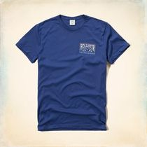 Hollister Co.(ホリスター) Tシャツ・カットソー 【国内即発】ホリスター TRAPPED PATTERN GRAPHIC TEE★BLUE★L
