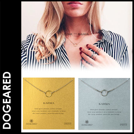 3-7 days arrival / Dogeared Karma Ring Necklace
