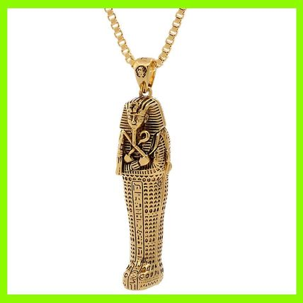 14K Gold Tut Coffin Necklace