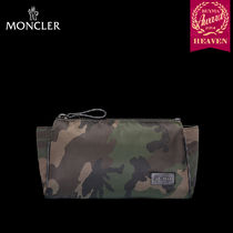 TOPセラー賞受賞!16/17秋冬┃MONCLER★ポーチ┃MILITARY GREEN
