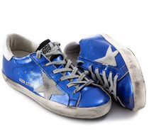 【関税負担】GOLDEN GOOSE 16AW SUPERSTAR BLUE LAMINATED/WHITE