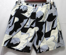 Supreme SS16 Abstract Water Short 黒 (Supremeステッカー付き)