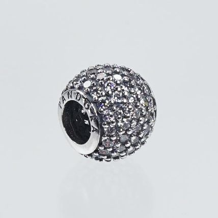 PNDORA 791051CZ チャーム WHITE PAVE BALL CHARM