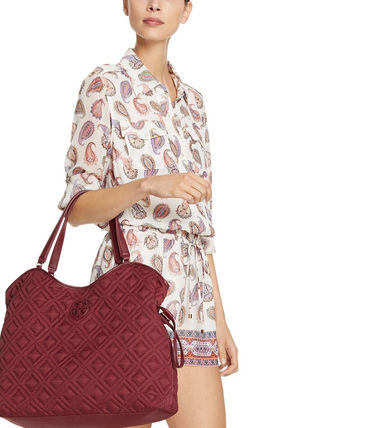Tory Burch マザーズバッグ マザーズバッグ ★Tory Burch★MARION QUILTED SLOUCHY★追跡付(4)