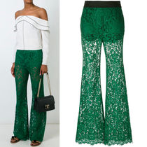16-17AW DG577 CORDONETTO LACE FLARE PANTS