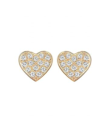 SWAROVSKI Cupid Cupid Pierced Earrings ピアス ローズゴールド
