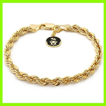 4mm 14K Gold Rope Dookieブレスレット