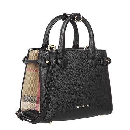 2 Burberry handbags 1011071 BABY BANNER colors: black