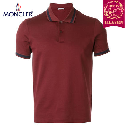 TOPセラー賞受賞!16/17秋冬┃MONCLER★POLO┃ボルドーレッド