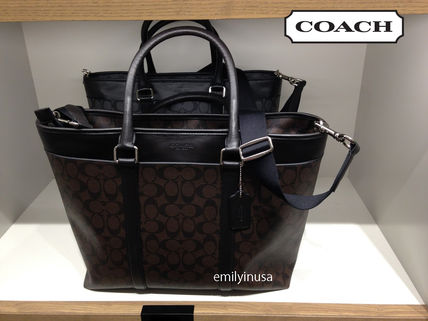 COACH★大人気 Business Tote ビジネストート F93456*MA/BR